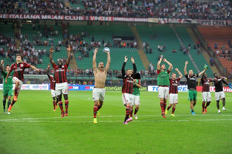 Es ist noch nicht allzulange her, dass die meisten Deutschen mit Milan entweder diese Prachtburschen oder ...