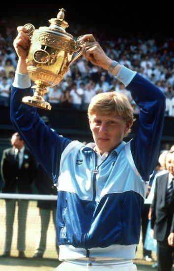 Alles beginnt in Wimbledon: Seit dem 7. Juli 1985 ist Boris Becker weltberühmt.