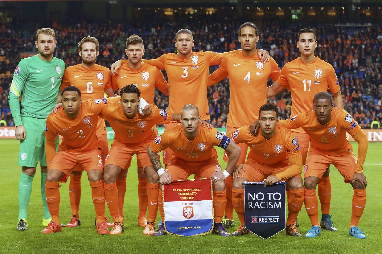 Holland Fußball Nationalmannschaft