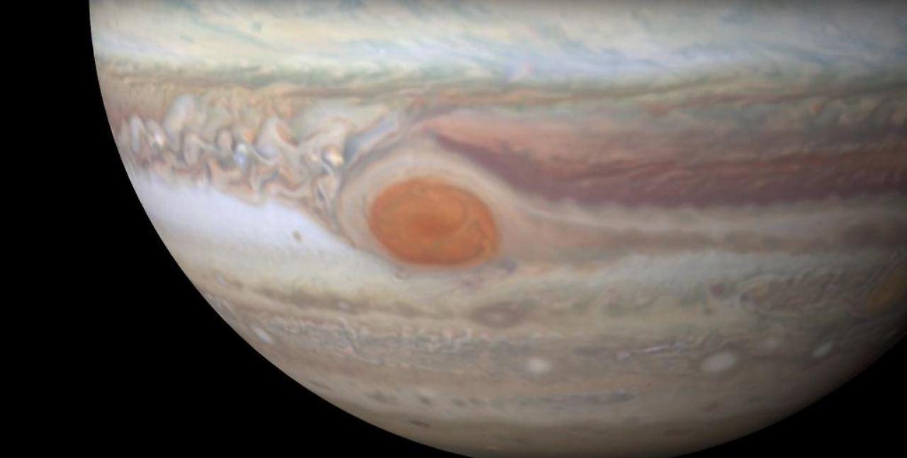 Roter Fleck Jupiter