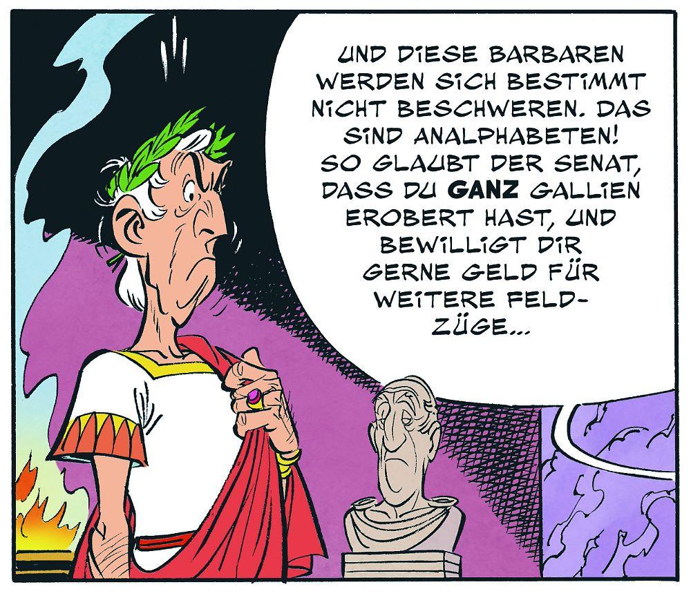 """""""Der Papyrus des Cäsar"""": So ist das neue Asterix-Abenteuer"""