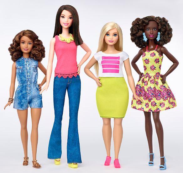 Nicht nur Barbie ist mittlerweile etwas kurviger, sondern ...