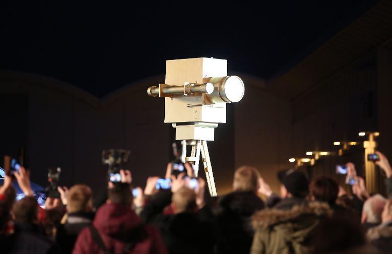 Nein, diese Kamera dient nicht der Hamburger Videoüberwachung, ...