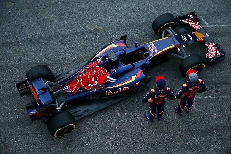 ... auf Augenhöhe mit Force India und Red Bull.