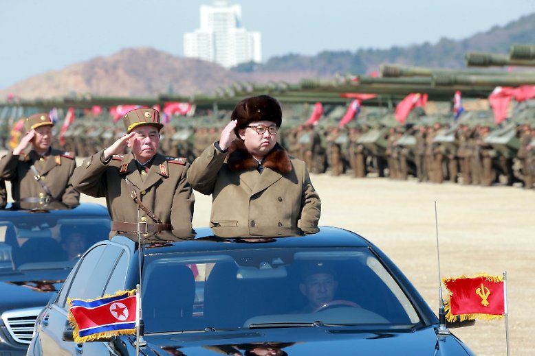 Der Konflikt zwischen den beiden Koreas kommt nicht zum Erliegen. Im Gegenteil - das Säbelrasseln wird lauter.