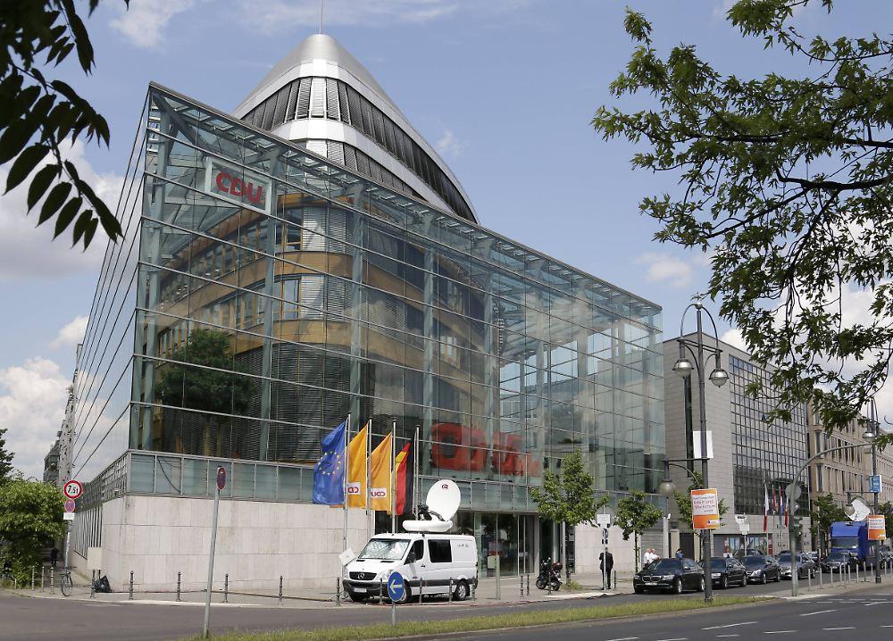 Der Tag Hacker Angriff auf CDU Zentrale vermutlich aus
