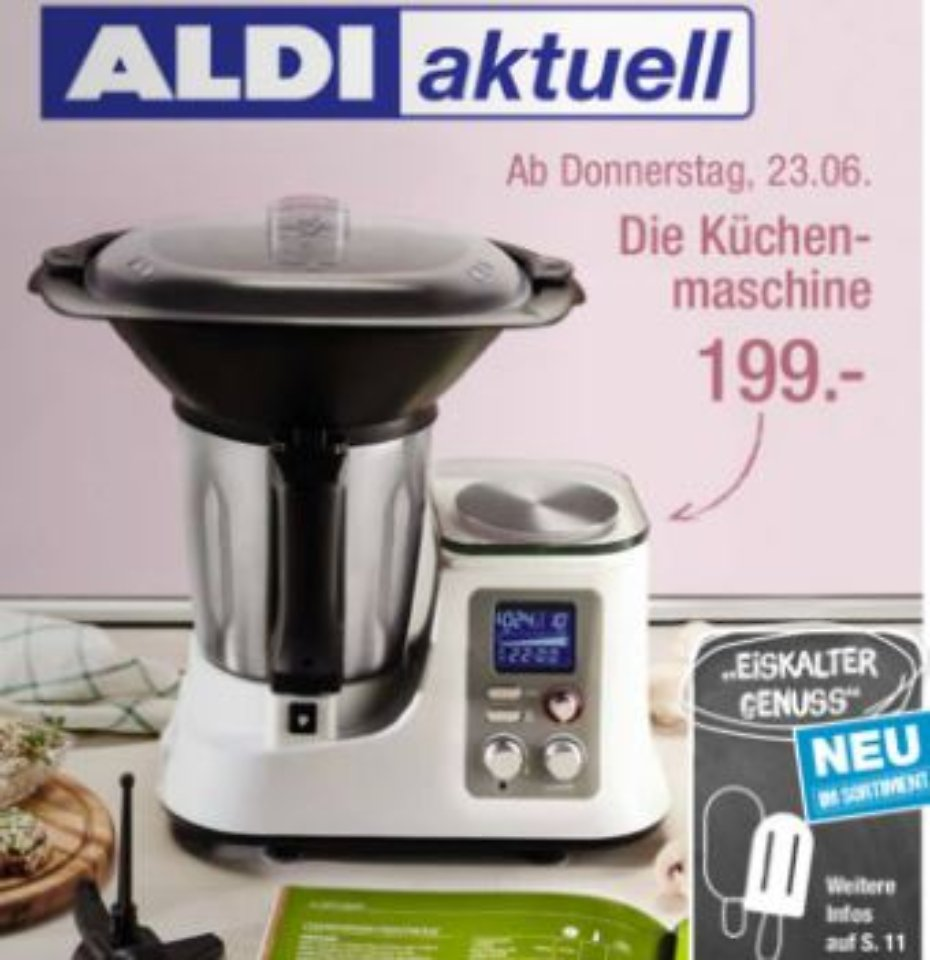 ab 23 juni bei aldi nord thermomix klon f r knapp 200. Black Bedroom Furniture Sets. Home Design Ideas