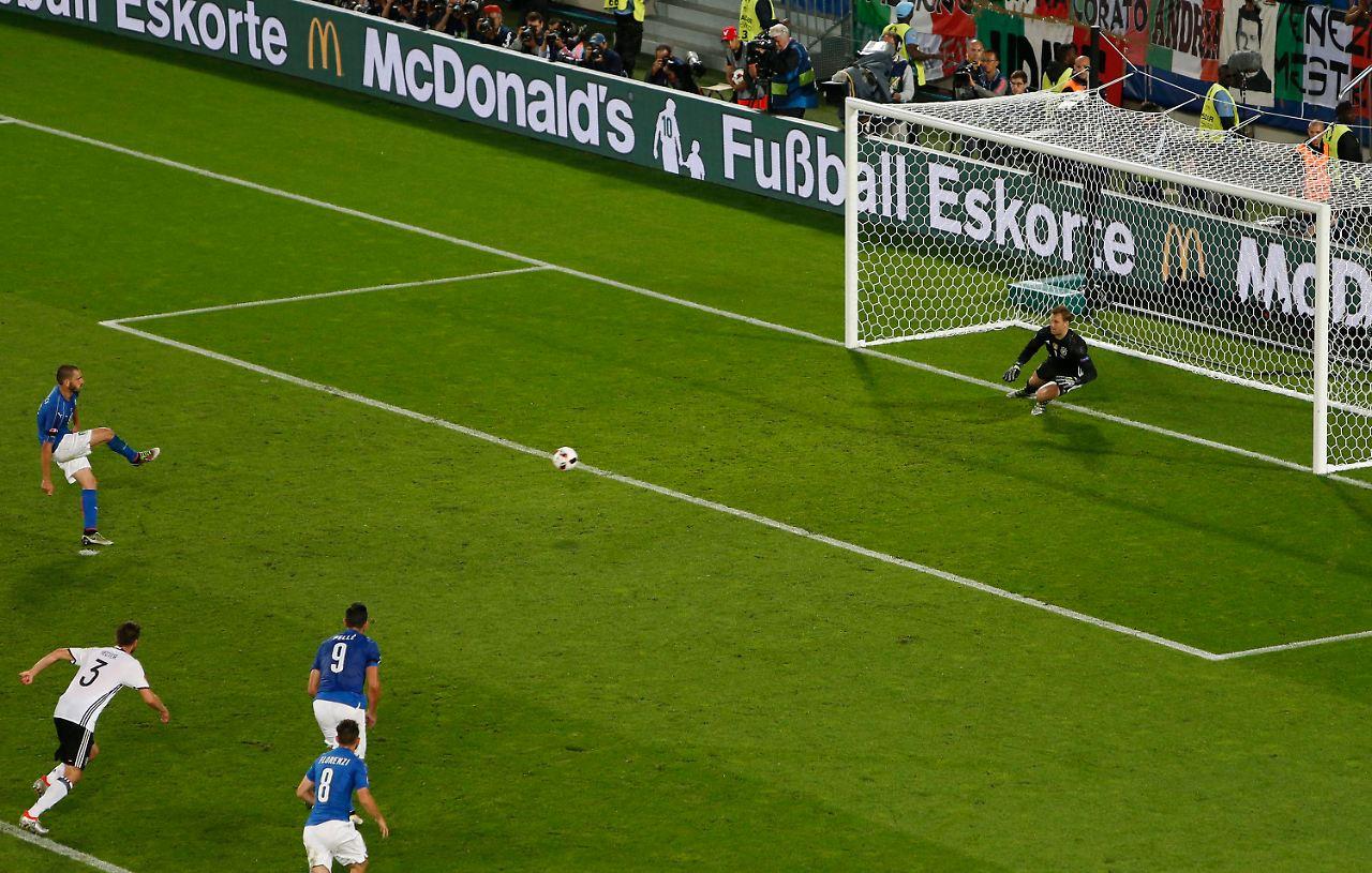 Em Deutschland Italien Elfmeterschießen