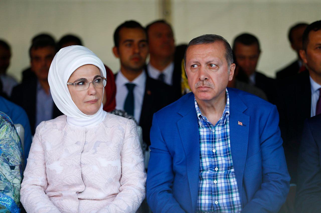 Frau Erdogan