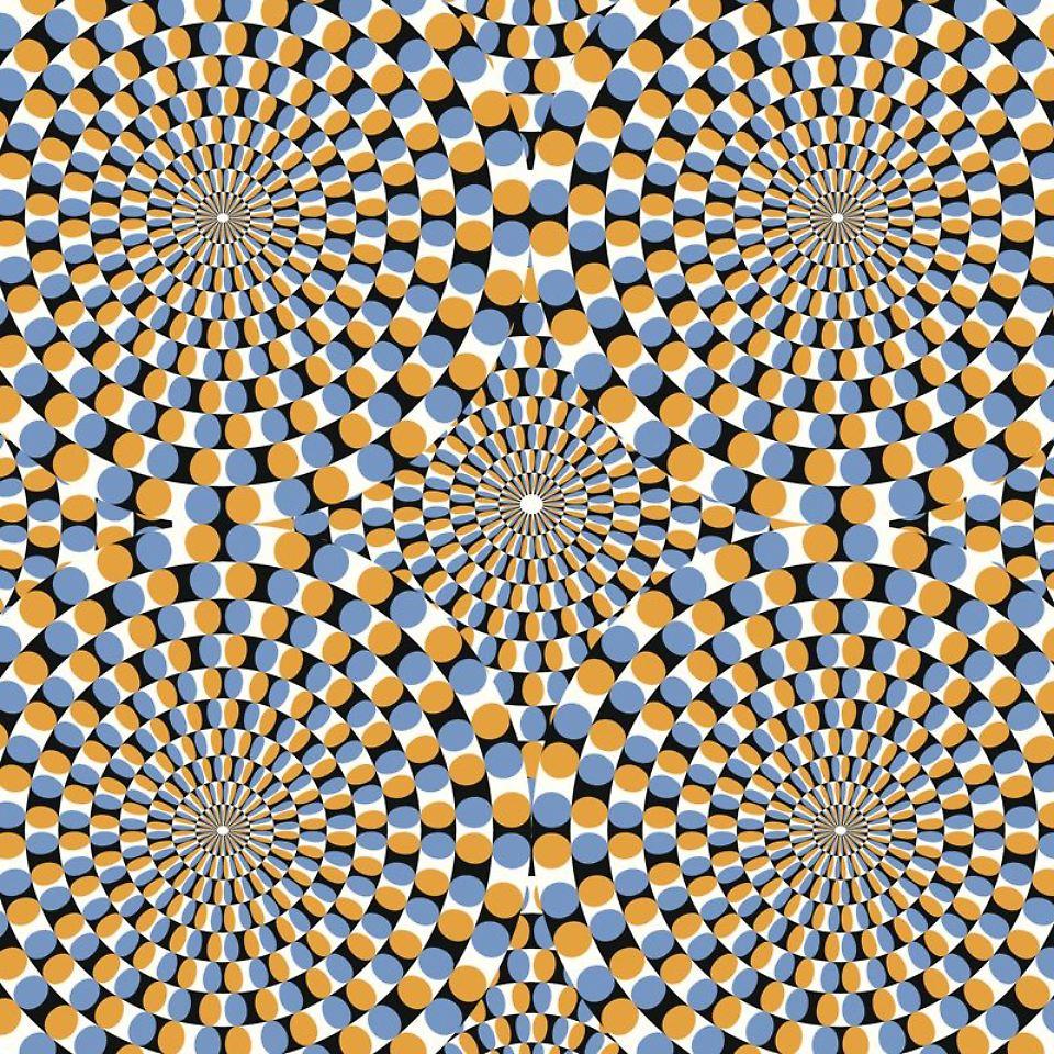 ber hmte optische illusionen punkte kreise farben was sehen sie n. Black Bedroom Furniture Sets. Home Design Ideas