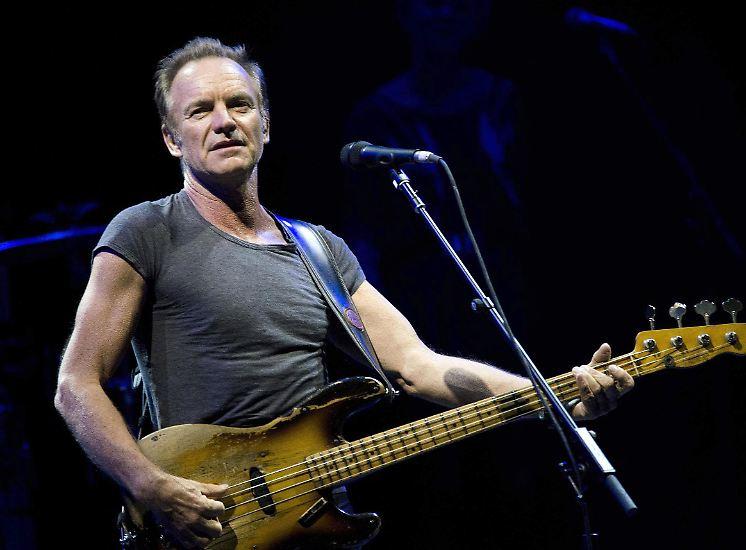 Das Rentenalter sieht man Sting nicht an. Zu seinem 65. Geburtstag am 2. Oktober wirkt er drahtig und agil - und im Reinen mit sich selbst.