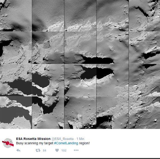 Es sind Bilder aus einer 720 Millionen Kilometer entfernten Welt: Hier hatte Raumsonde Rosetta ihr Ziel fast erreicht. Am 30. September 2016 schlug sie um 12.39 MESZ kontrolliert auf Tschuri auf. Damit endete eine zwölfjährige Mission. Im Laufe des Vormittags ...