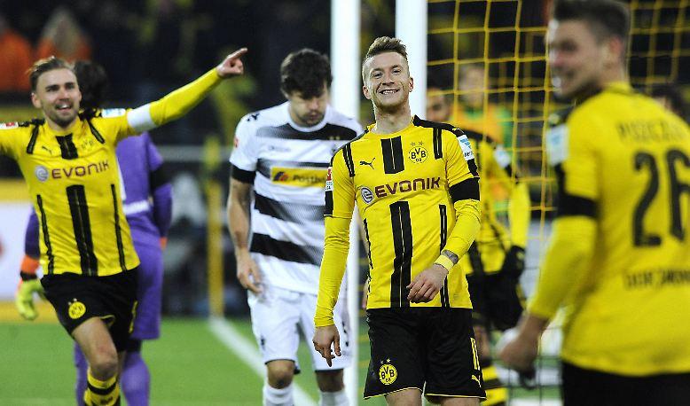 Borussia Dortmund - Borussia Mönchengladbach 4:1 (2:1)