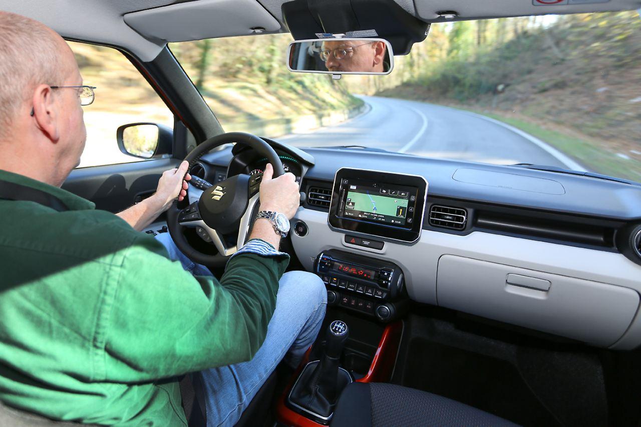 Das Angebot An Assistenzsystemen Macht Den Suzuki Ignis Zur Ausnahmeerscheinung
