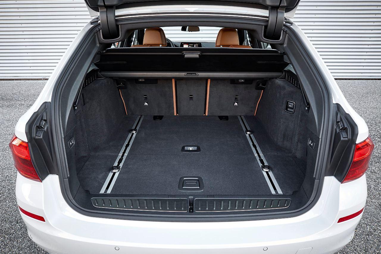alle erwartungen erf llt bmw 5er touring ist die bessere limousine n. Black Bedroom Furniture Sets. Home Design Ideas