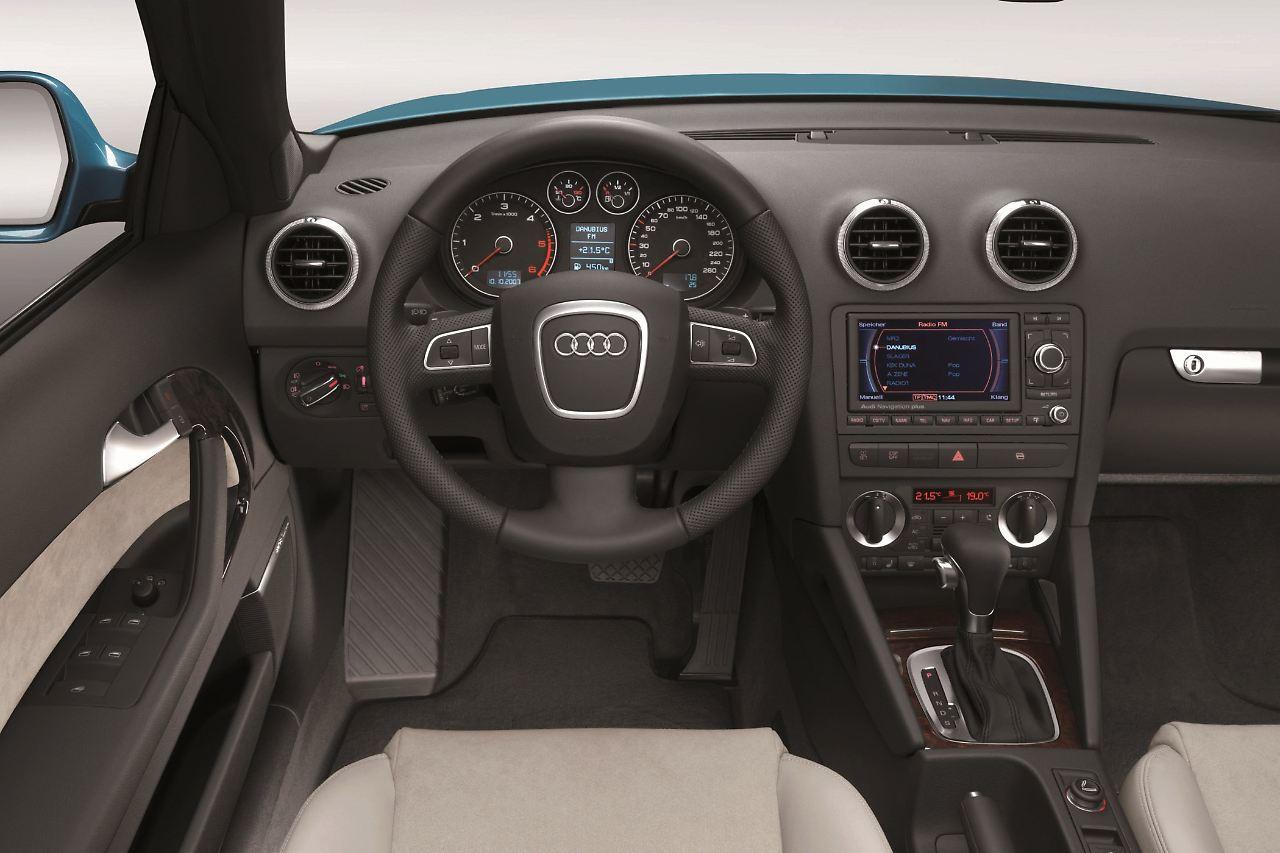 gebrauchter sommerflitzer audi a3 cabrio verspricht spa. Black Bedroom Furniture Sets. Home Design Ideas