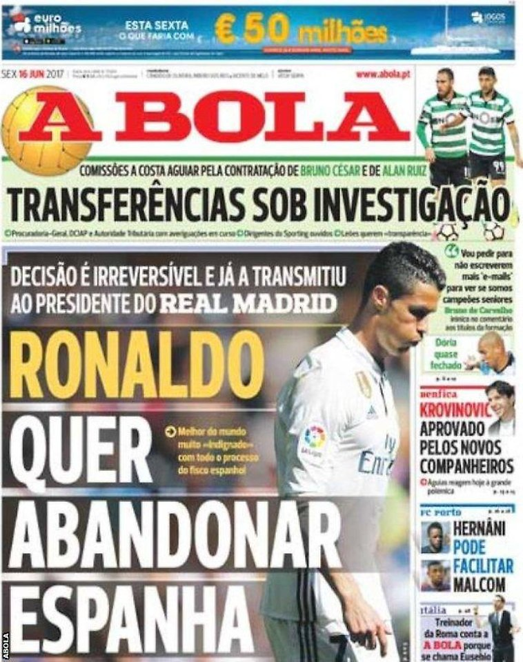 Cristiano Ronaldo vor Abschied von Real Madrid: Dringender Wechselwunsch an Berater Mendes