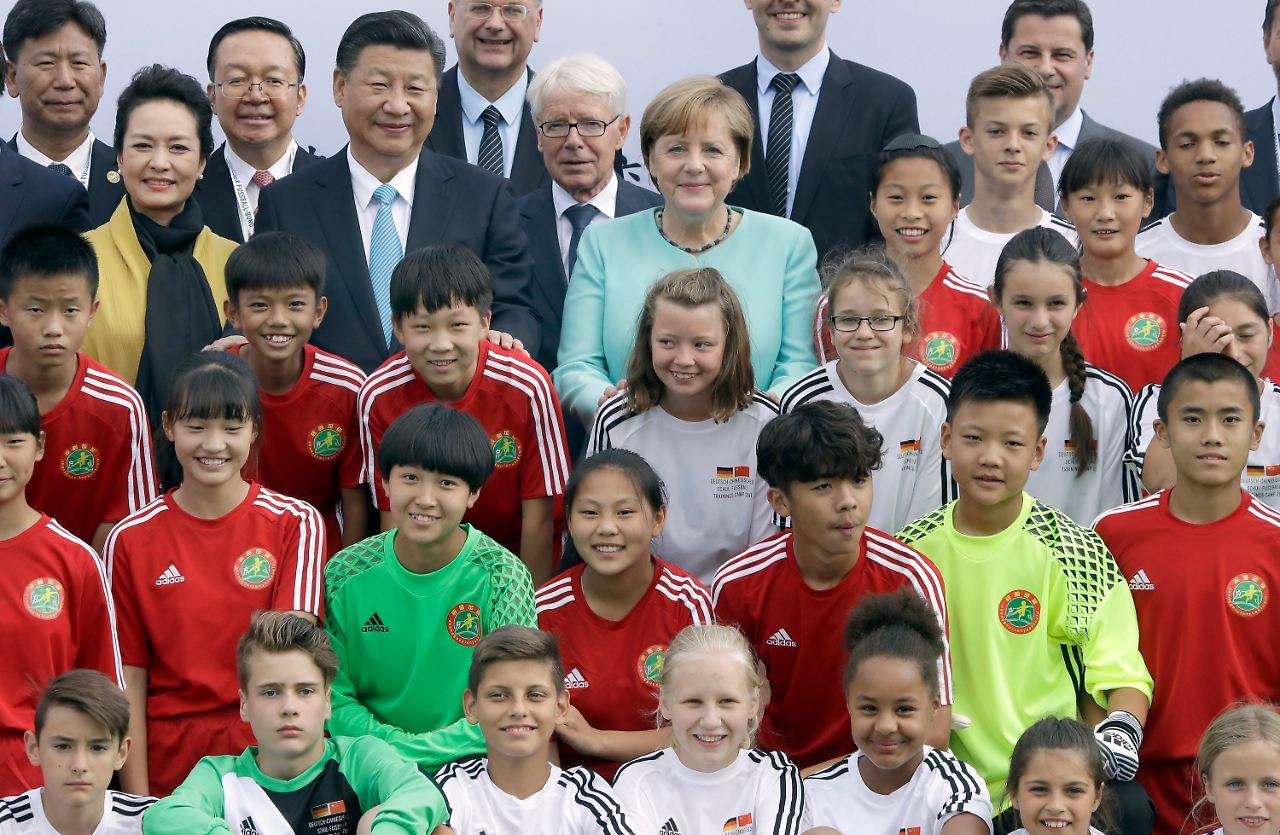 Merkel sieht Xi als Verbündeten gegen die