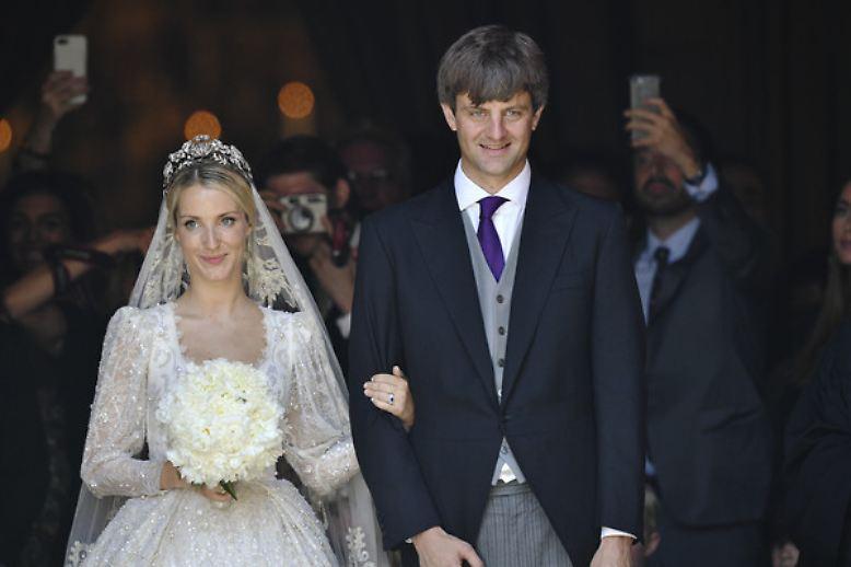 Ernst August junior und Ekaterina von Hannover sind jetzt auch kirchlich verheiratet.