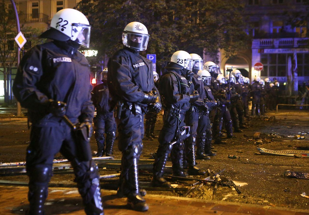 Berliner belohnt Polizei für G20-Einsatz mit Sonderurlaub