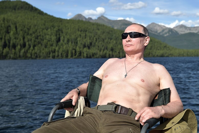 ... wie sich der 1952 geborene Präsident zukünftig präsentieren wird.