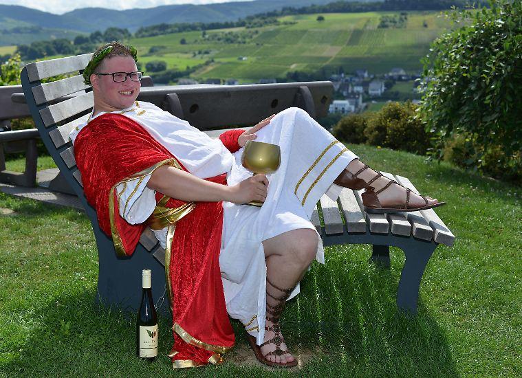 Männliche Weinkönigin