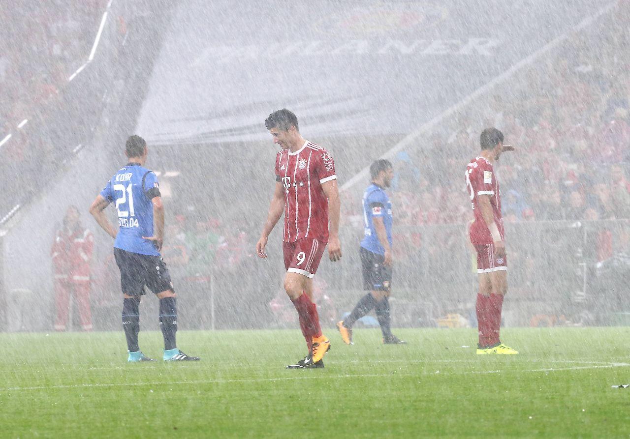FC Bayern gewinnt 3:1 gegen Bayer beim Bundesliga-Auftakt