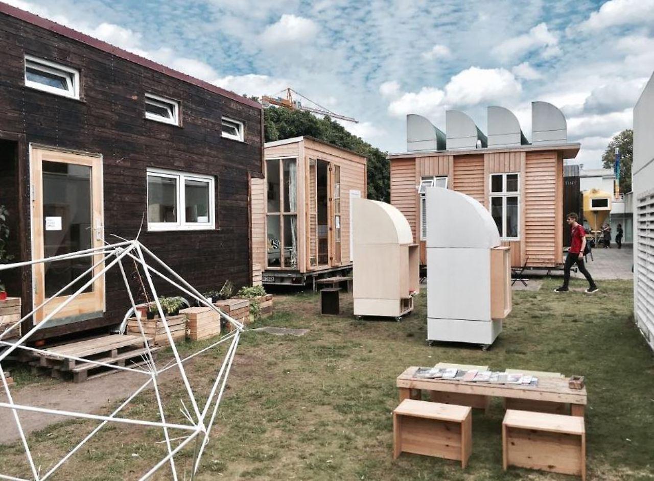 Die Idee Für Die Tinyhouses Stammt Ursprünglich Aus Den USA.