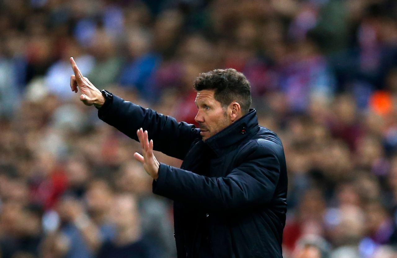 Diego Simeone will bis 2020 an der Atlético-Seitenlinie weiterbrodeln- und wird bis dahin auch gelegentlich ausbrechen