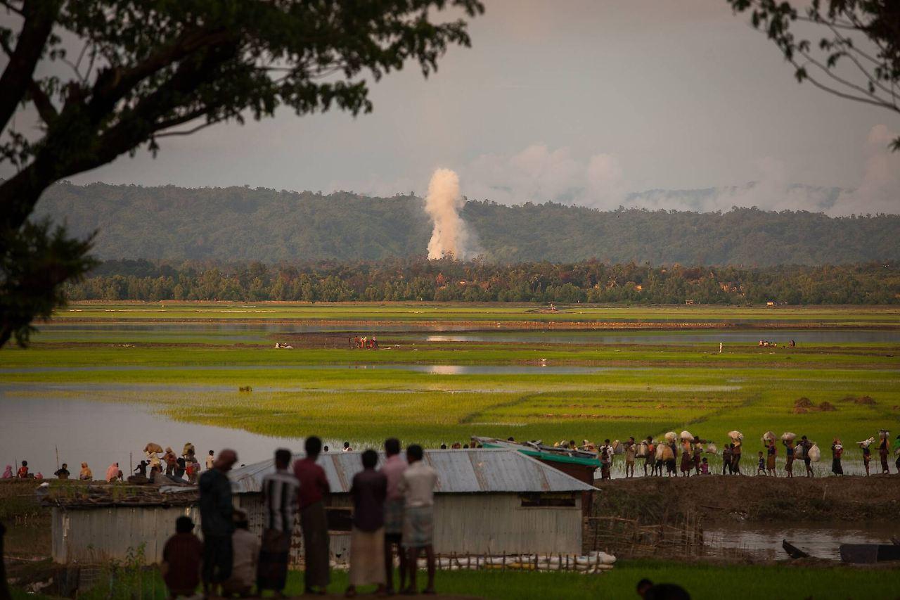 Rohingya Rebellen