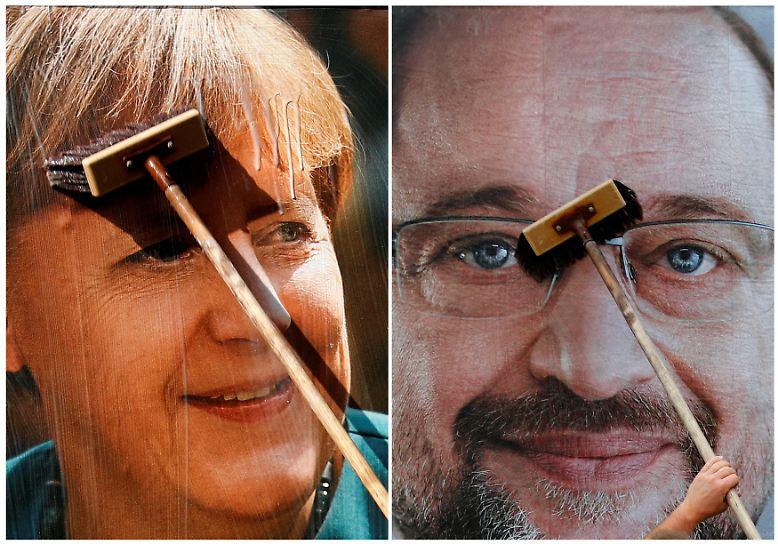 Neuer Bekenntnismut im Bundestagswahlkampf: Viele Prominente beziehen dieser Tage eindeutig Stellung für eine Partei und deren Kandidatin oder Kandidaten. Im Mittelpunkt stehen dabei - wenig verwunderlich - die beiden großen Volksparteien mit ihren Kandidaten Angela Merkel und Martin Schulz.