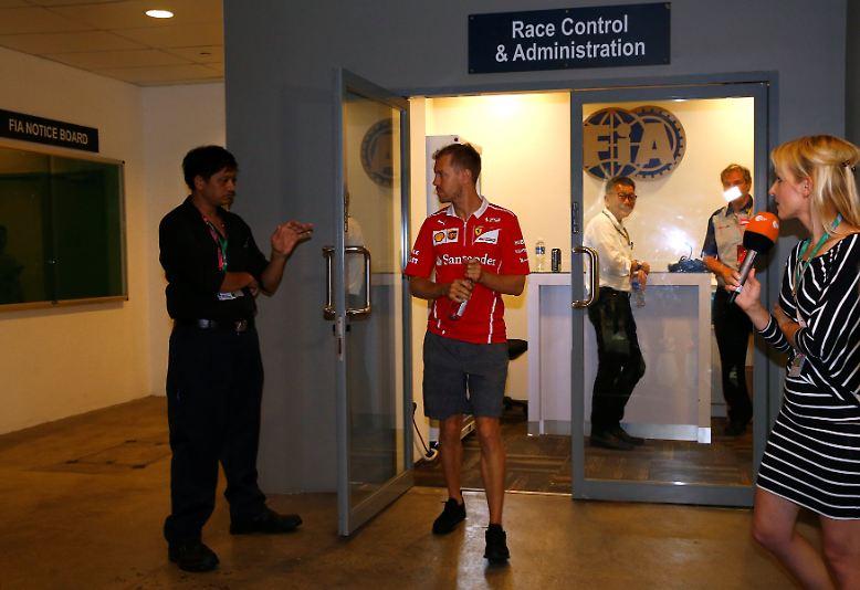 Ferrari und Vettel bleibt nach einem desaströsen Renntag in Singapur für die verbleibenden WM-Läufe nur das Prinzip Hoffnung.