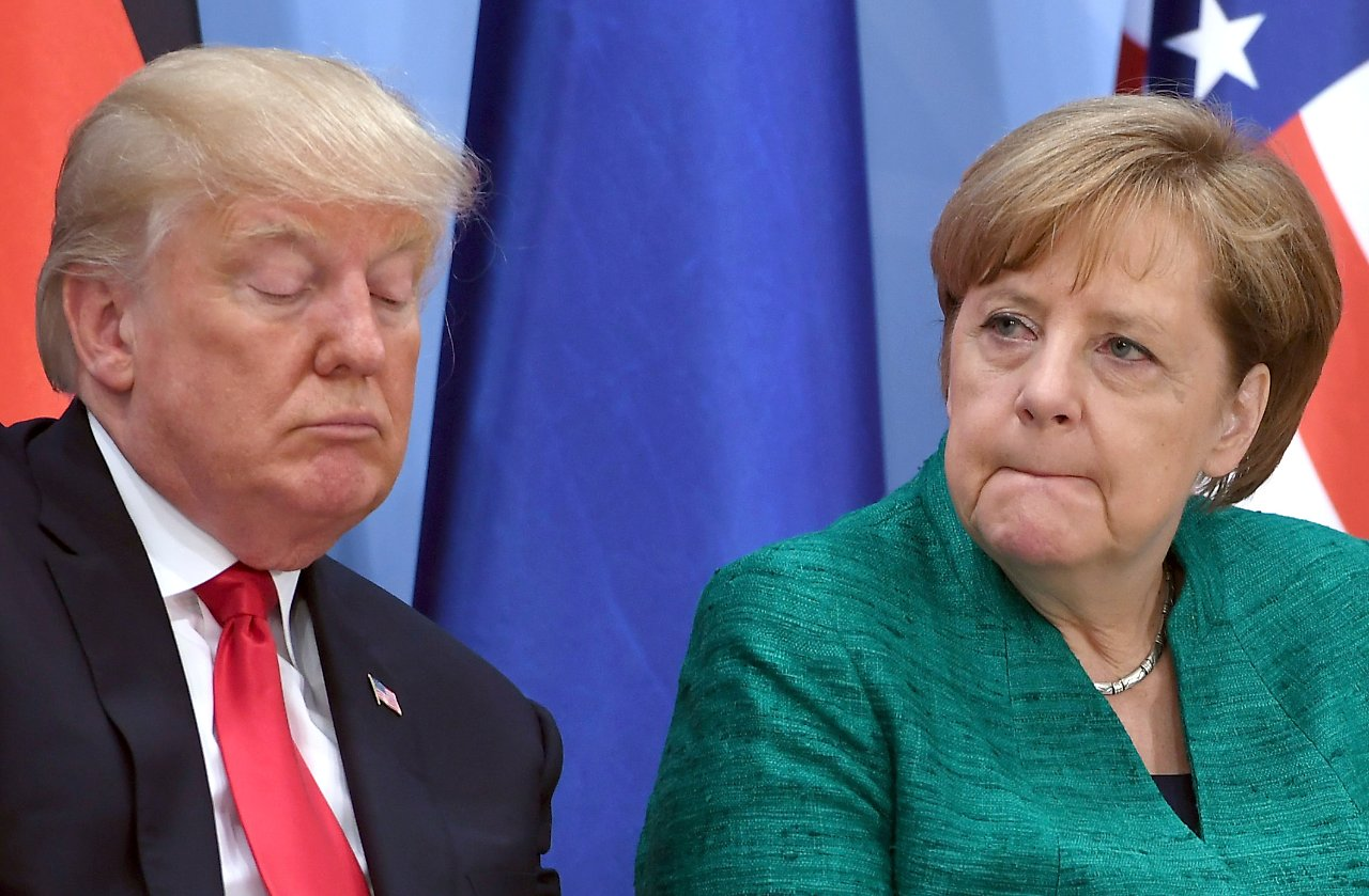 Merkel Gratuliert Trump