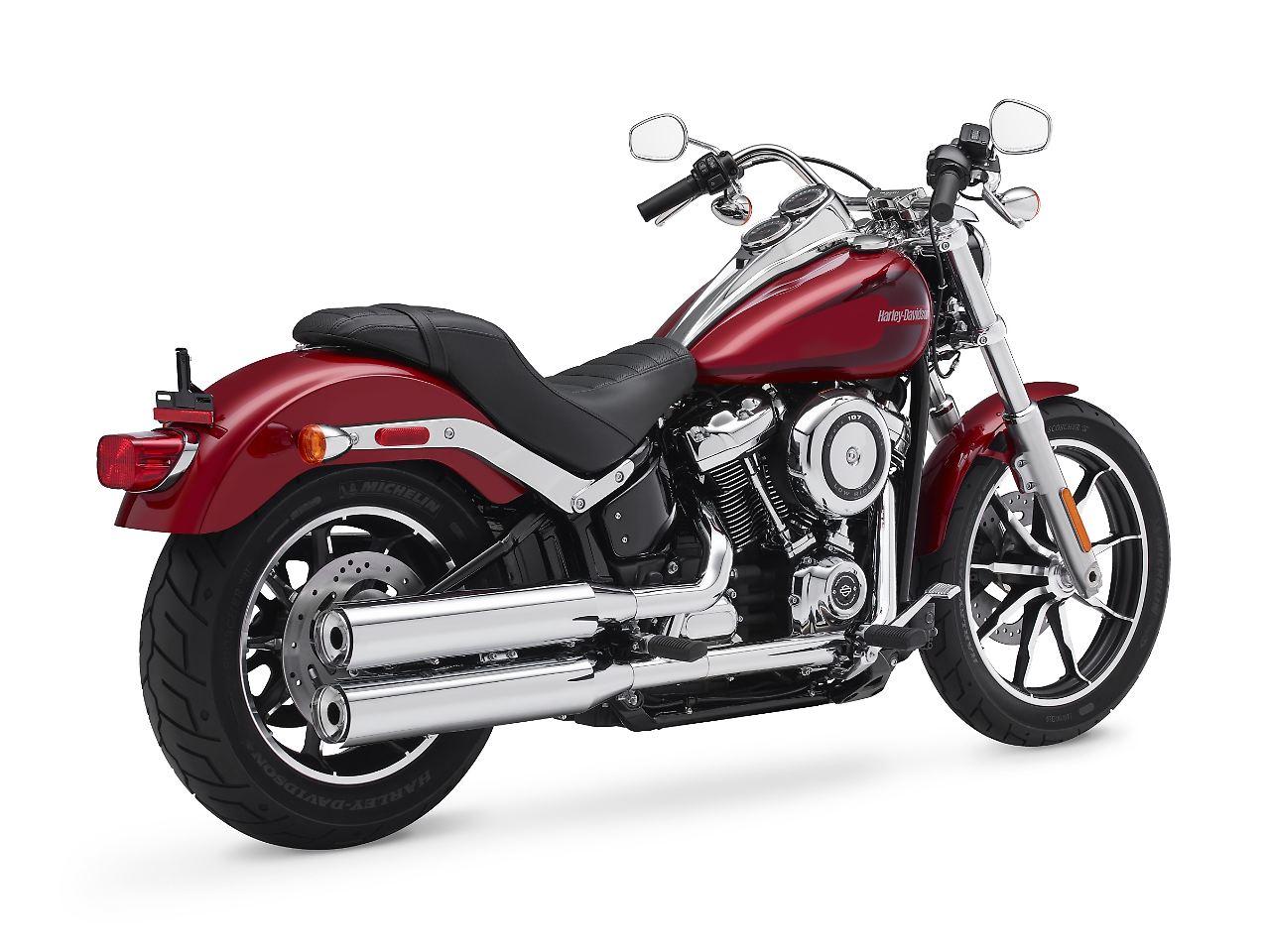 Gewicht runter, Leistung rauf: Harleys neue Softail-Palette - n-tv.de