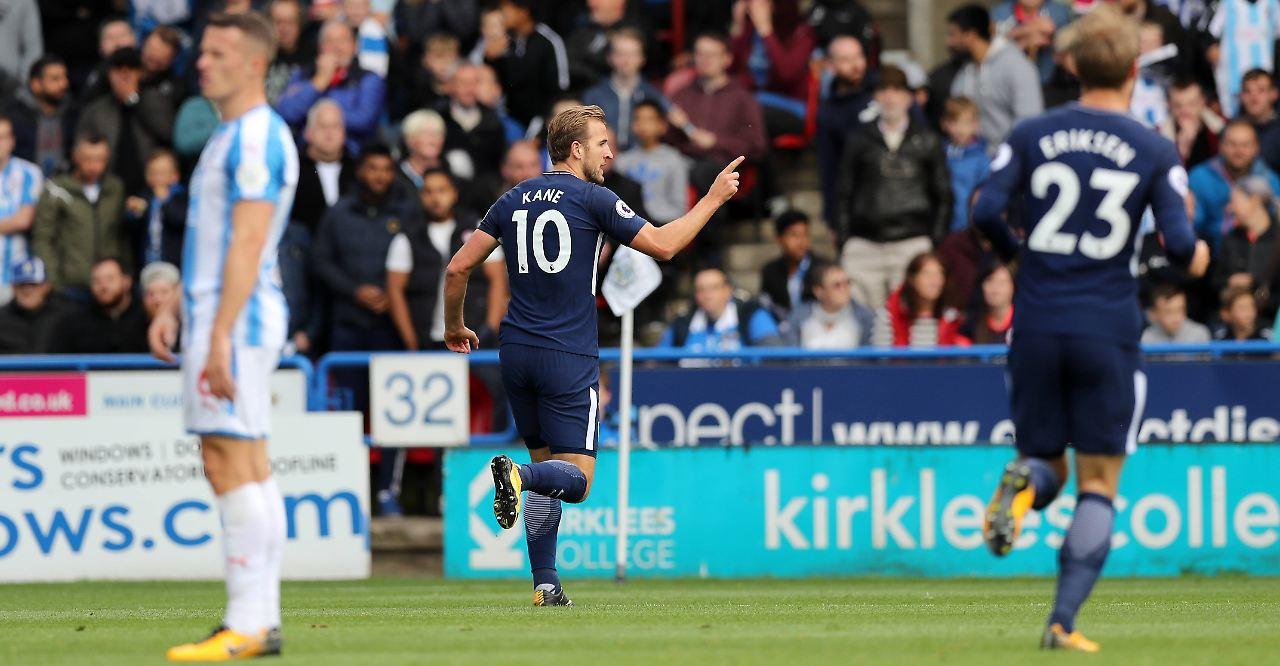 Auch Huddersfield kann Harry Kane nicht stoppen