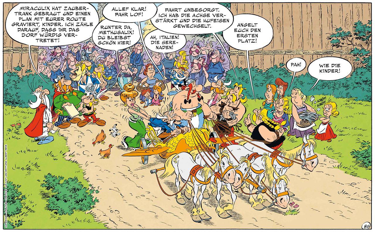 asterix in italien neapel sehen und siegen n. Black Bedroom Furniture Sets. Home Design Ideas