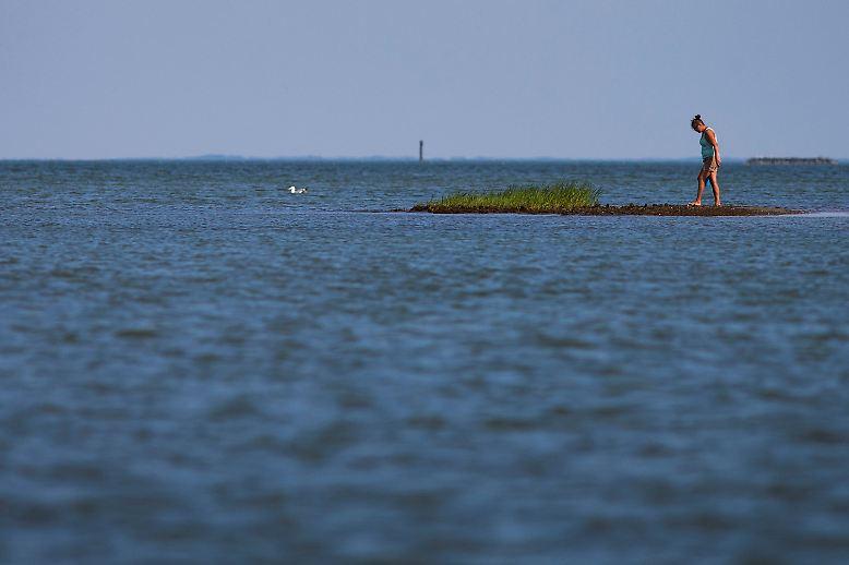 Die Bewohner von Tangier Island im US-Bundesstaat Virginia leben in einer traumhaften Landschaft.