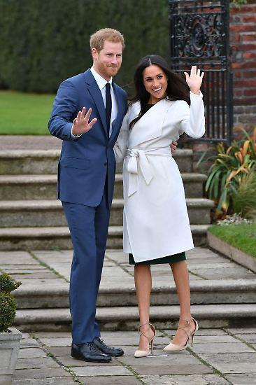 Heeeey, wir sind's, das neue Royal Couple!