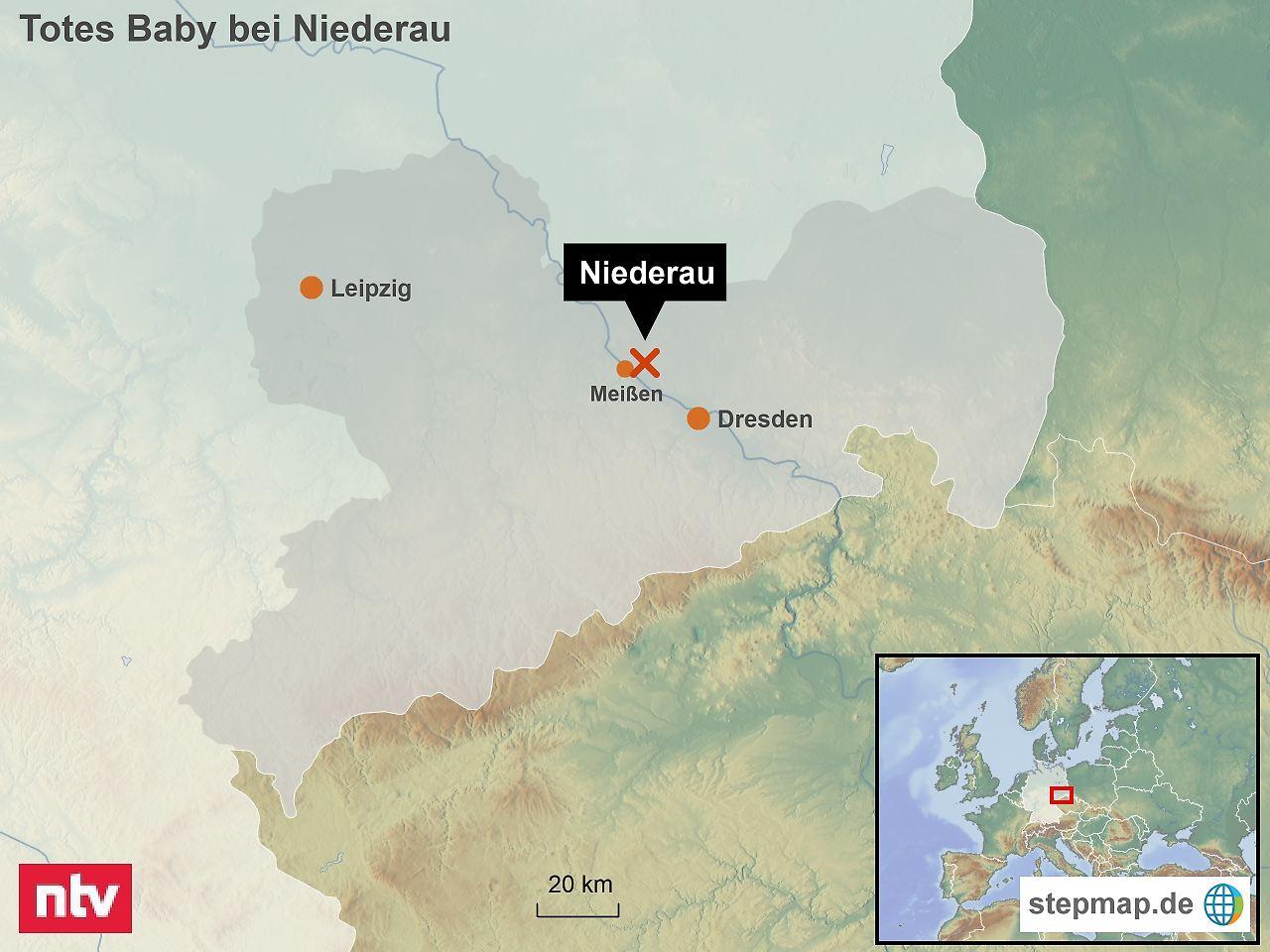 Toter Säugling auf Feld bei Niederau in Sachsen gefunden - Verdacht auf Totschlag