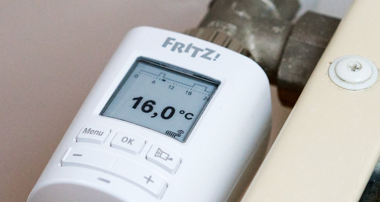 thermostat fritzdect 301 im test so regelt die fritzbox die heizung n. Black Bedroom Furniture Sets. Home Design Ideas