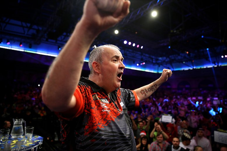 """Als Phil Taylor im tosenden """"Ally Pally"""" mit einer Niederlage Abschied von der großen Bühne nimmt, geht im Darts-Sport eine Ära zu Ende."""