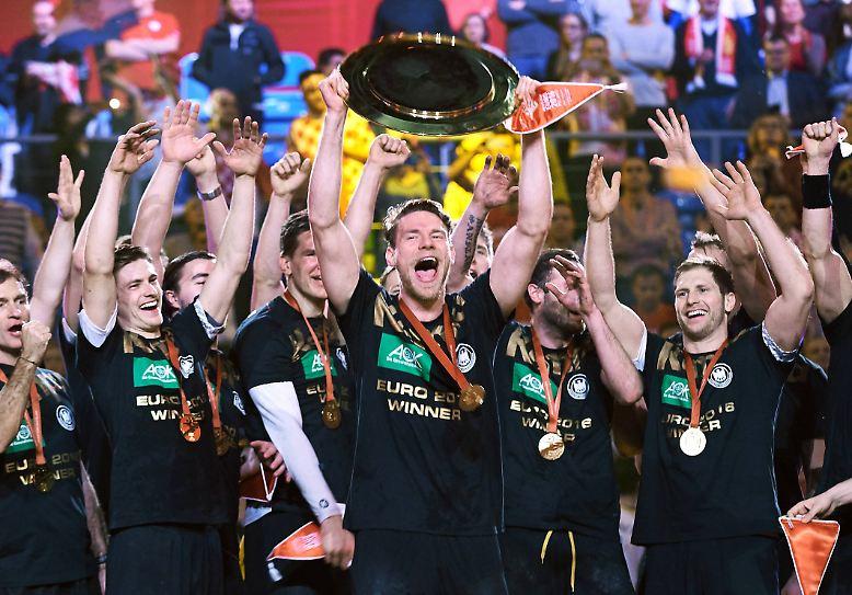 Der Plan der deutschen Handball-Nationalmannschaft: Titelverteidigung bei der Europameisterschaft in Kroatien.