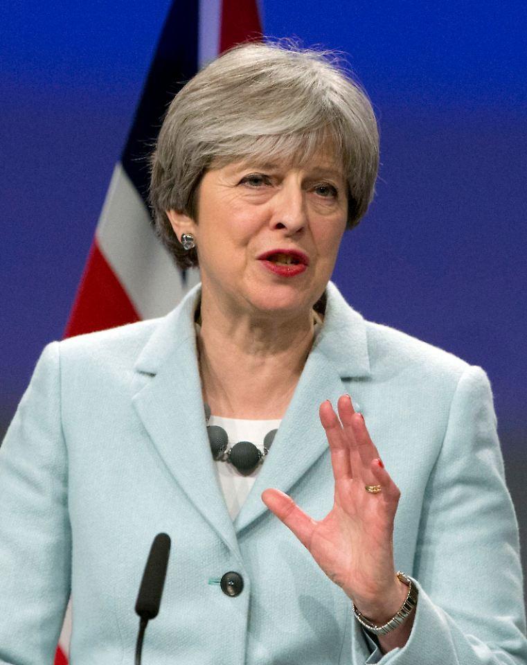 Brexit - May bestreitet Rosinenpicken und will