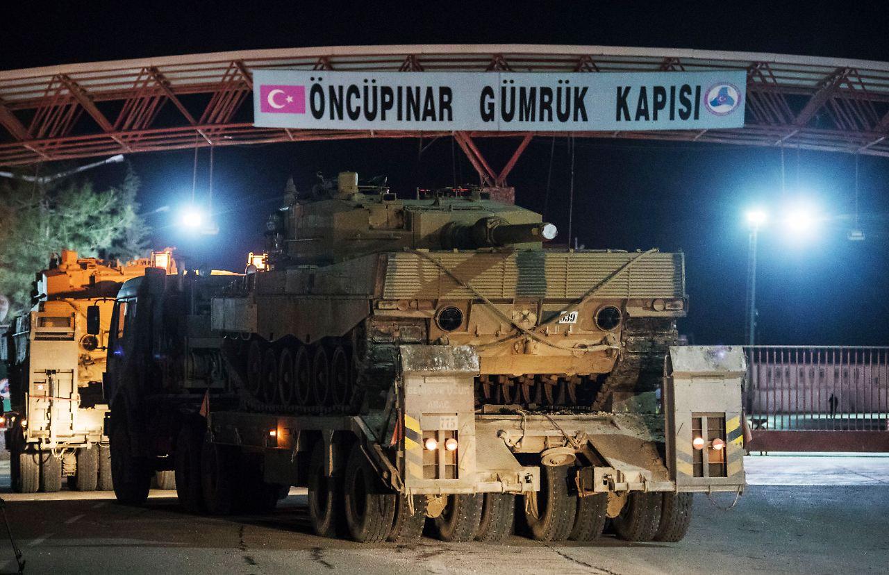 Türkei setzt Bodentruppen in Syrien ein