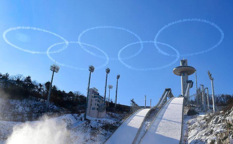 Die Augen der Weltöffentlichkeit richten sich auf Pyeongchang.