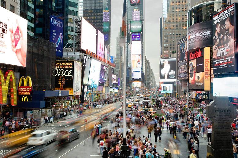 Überall auf der Welt das gleiche Bild: Die Menschen zieht es vom Land in die Großstädte. Sei es New York City, ...