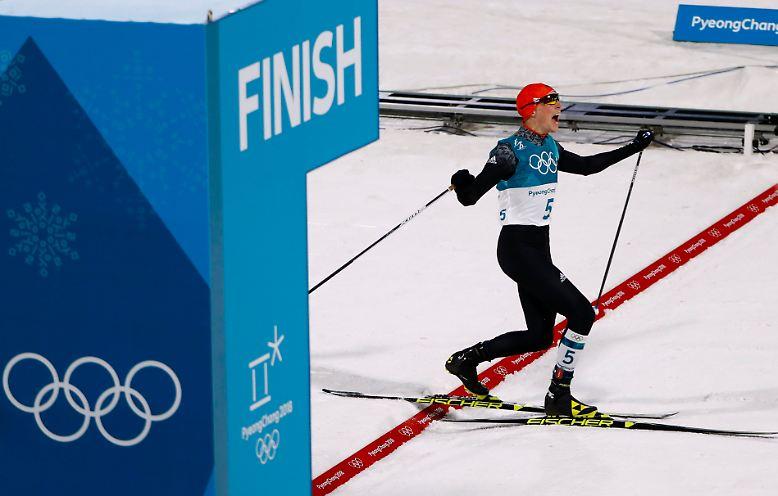 Er ist der große Sieger des fünftes Wettkampftages in Pyeongchang - zumindest aus deutscher Sicht.