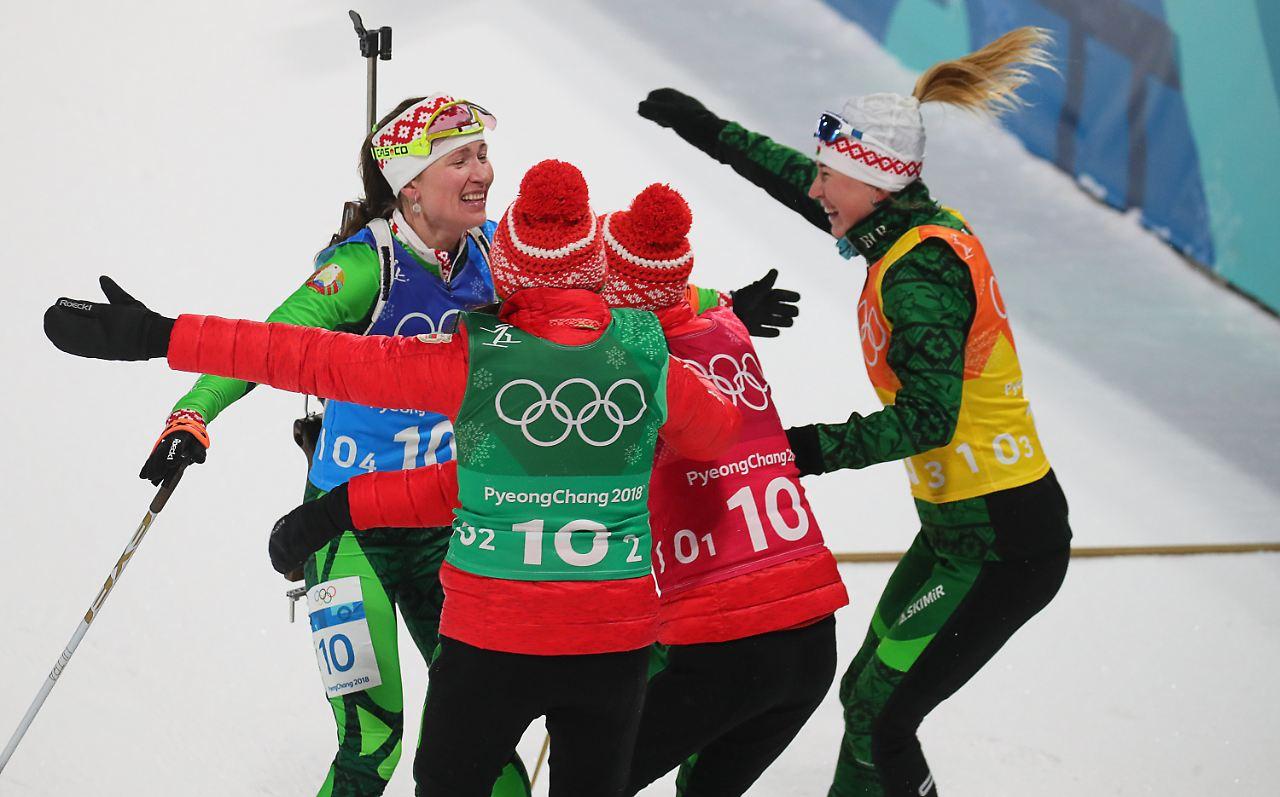 Medaille klar verpasst Deutsche Biathletinnen patzen in der Staffel