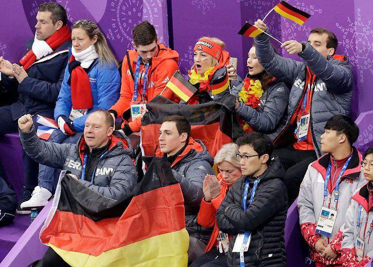 Die deutsche Gesamtbilanz: Vierzehn Gold-, zehn Silber- und sieben Bronzemedaillen. (lsc)
