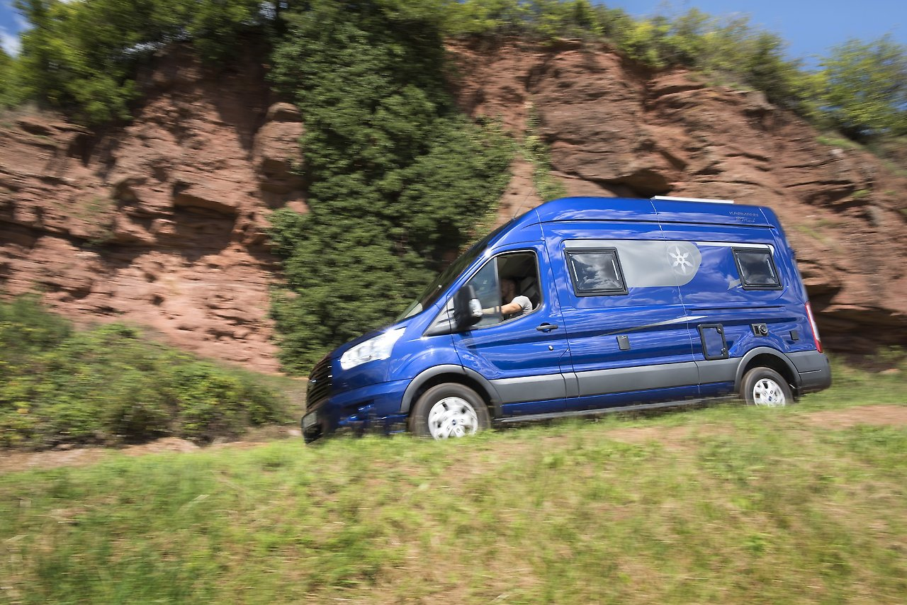 Campingbus Etagenbett : Karmann mobil davis komfort campingbus für die familie